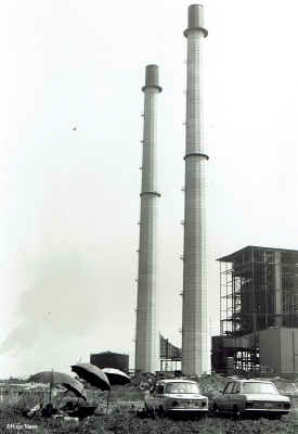 Thermische centrale in Kallo