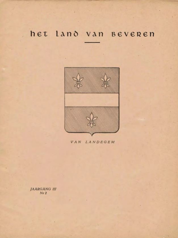 Cover of Jaargang (03) III - Nr.2
