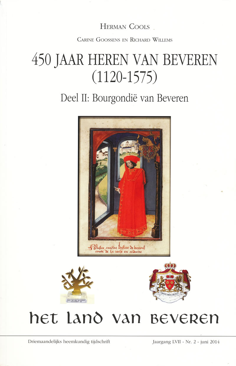 Cover of 450 jaar heren van Beveren (1120-1575)