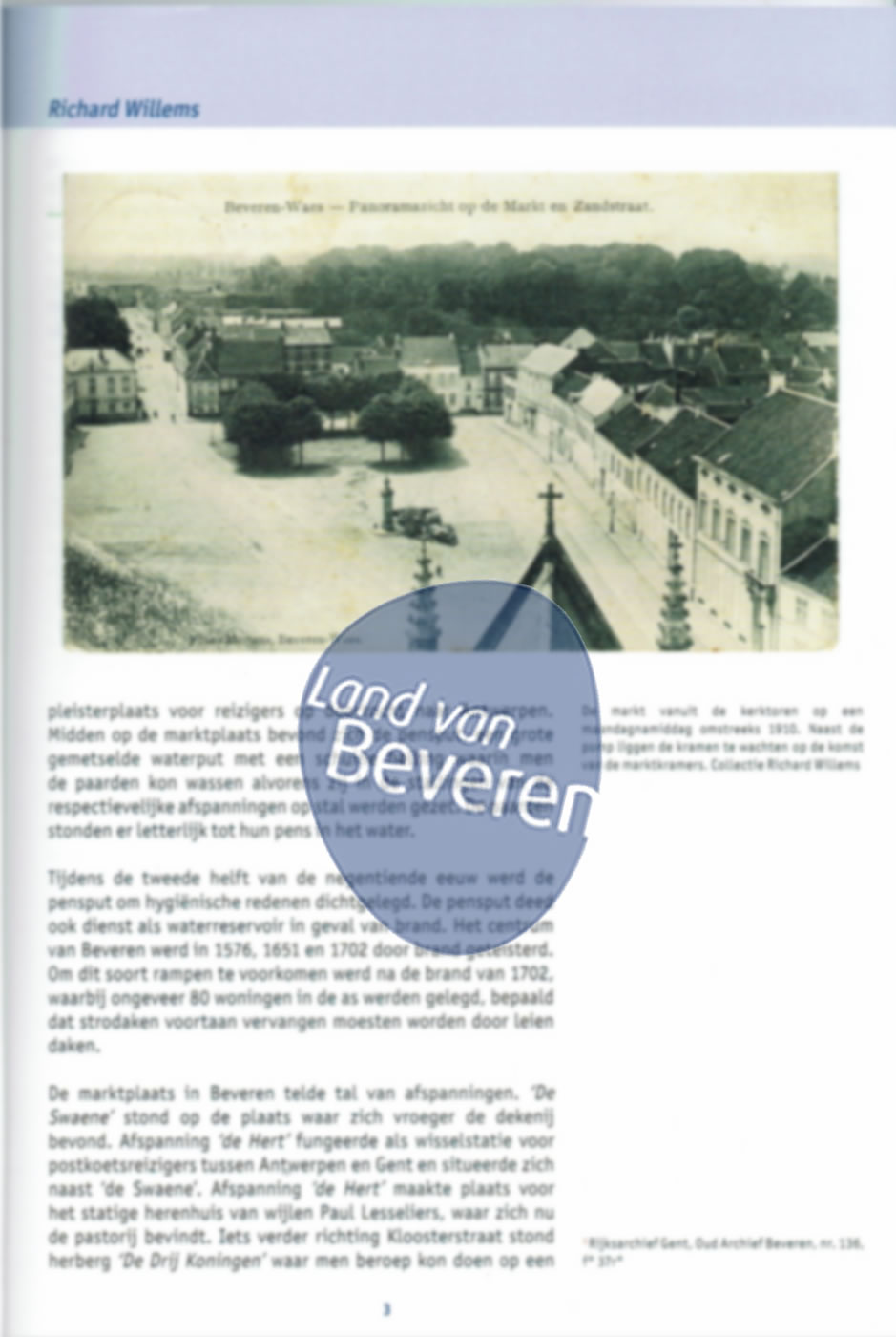 Cover of Over de Beverse Markt.